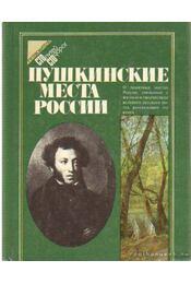 Helyek, ahol Puskin megfordult Oroszországban - útikalauz (orosz nyelvű) - Régikönyvek