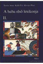 A baba első lexikonja II. - Régikönyvek