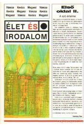 Első oldal II. - Váncsa István, Kovács Zoltán, Megyesi Gusztáv - Régikönyvek