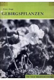 Gebirgspflanzen (Hegyivirágok) - Régikönyvek