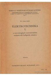 Elektrotechnika I. - Régikönyvek