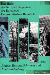 Handbuch der Naturschutzgebiete der Deutschen Demokratischen Republik Band 1. - Régikönyvek