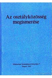 Az osztályközösség megismerése - Régikönyvek
