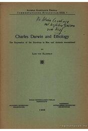 Charles Darwin and Ethology - Régikönyvek