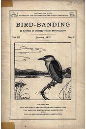 Bird-banding (Madarak megjelölése) - Régikönyvek