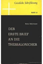 Der Erste Brief an die Thessalonicher - Régikönyvek
