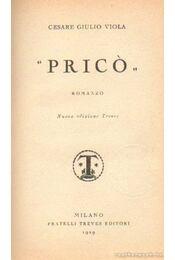 Pricó - Régikönyvek