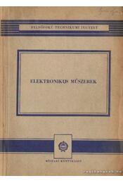 Elektronikus műszerek - Régikönyvek