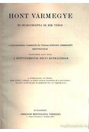 Hont vármegye (Magyarország vármegyéi és városai) - Régikönyvek