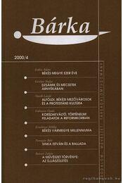 Bárka 2000/4 - Régikönyvek