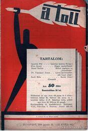 A toll II. évf. 5. sz. (1930. január 31.) - Kaczér Vilmos (szerk.) - Régikönyvek