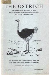 The Ostrich Vol. XXXII No. 3 - Régikönyvek