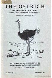 The Ostrich Vol. XXXII No. 3 - Régikönyvek