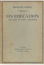 On education especially in early childhood - Régikönyvek