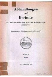 Abhandlungen und Berichte des Naturkundlichen Museums - Régikönyvek