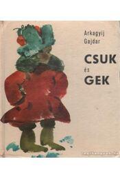 Csuk és Gek - Régikönyvek