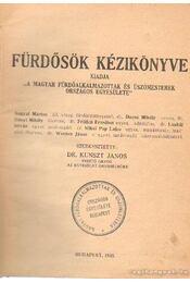 Fürdősök kézikönyve - Régikönyvek