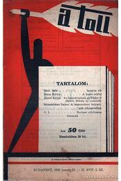 A toll II. évf. 2. sz. (1930. január 10.) - Régikönyvek
