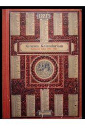 Kincses Kalendáriom 1936 - Régikönyvek