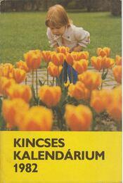 Kincses Kalendárium 1982 - Régikönyvek
