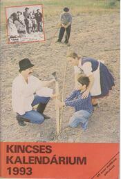 Kincses kalendárium 1993. - Régikönyvek