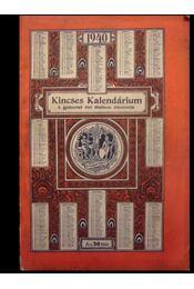 Kincses Kalendárium 1940 - Régikönyvek