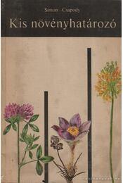 Kis növényhatározó - Régikönyvek