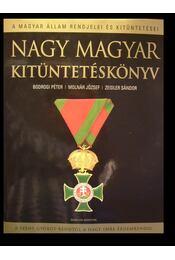 Nagy magyar kitüntetéskönyv - Régikönyvek