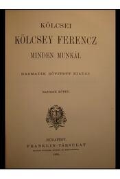 Kölcsey Ferencz minden munkái 5-6. kötet - Régikönyvek