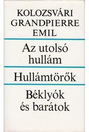 Az utolsó hullám / Hullámtörők / Béklyók és barátok - Kolozsvári Grandpierre Emil - Régikönyvek