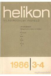 Helikon 1986/3-4. - Köpeczi Béla - Régikönyvek