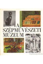 A Szépművészeti Múzeum - Körner Éva - Régikönyvek