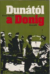 a Dunától a Donáig - Kossa István - Régikönyvek