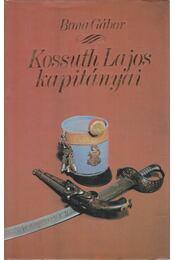 Kossuth Lajos kapitányai - Bona Gábor - Régikönyvek