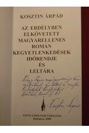 Az Erdélyben elkövetett magyarellenes román kegyetlenkedések időrendje és leltára - Régikönyvek