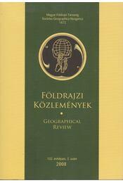 Földrajzi közlemények 2008/2. - Kovács Zoltán - Régikönyvek