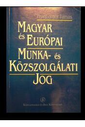 Magyar és európai munka- és közszolgálati jog - Régikönyvek