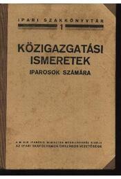 Közigazgatási ismeretek - Régikönyvek