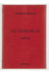 Az összeomlás 1918-19 - Régikönyvek