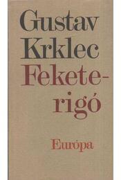 Feketerigó - Krklec, Gustav - Régikönyvek