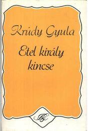 Etel király kincse - Krúdy Gyula - Régikönyvek