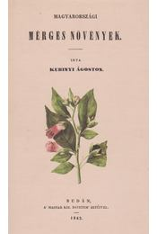Magyarországi mérges növények - Kubinyi Ágoston - Régikönyvek