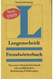 Langenscheidt Fremdwörterbuch - Régikönyvek