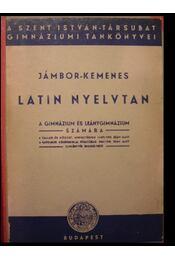 Latin nyelvtan - Régikönyvek