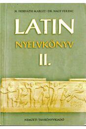 LATIN NYELVKÖNYV II. - Régikönyvek