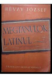 Megtanulok latinul - Régikönyvek