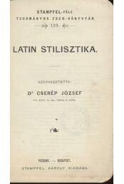 Latin stilisztika - Régikönyvek