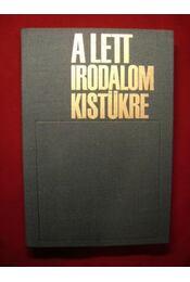A lett irodalom kistükre - Régikönyvek