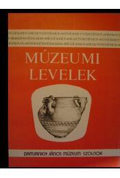 Múzeumi Levelek 47-48. szám - Régikönyvek