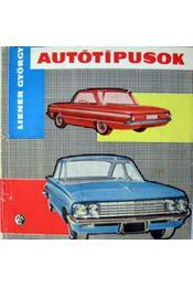 Autótípusok 1961 - Liener György - Régikönyvek